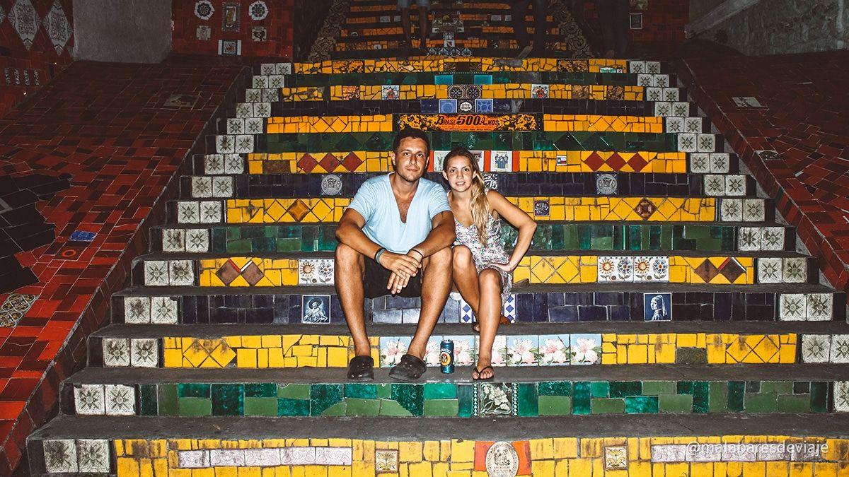 Escalera Selaron, Rio de Janeiro, Lapa