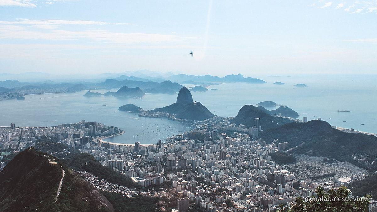 Vista de Rio de Janeiro desde el Cristo Redentor