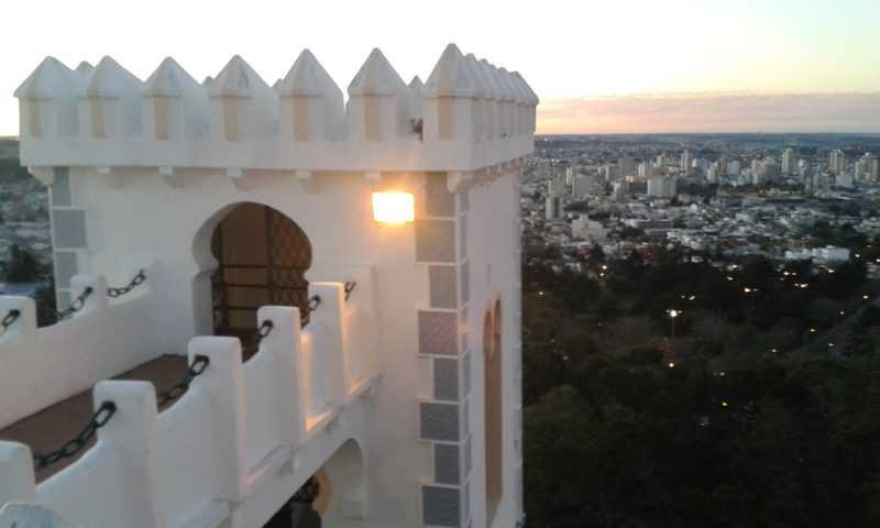 Vista desde el Castillo Morisco. Foto con mi celular