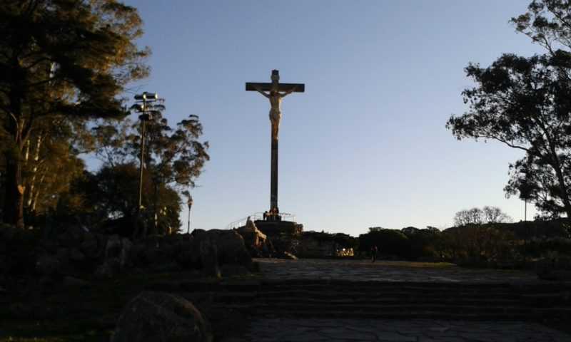 Monte Calvario - Foto con mi celular
