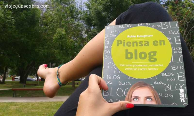 Libros. Blog. Piensa en Blog. Travel Blogger. Blog de Viajes.