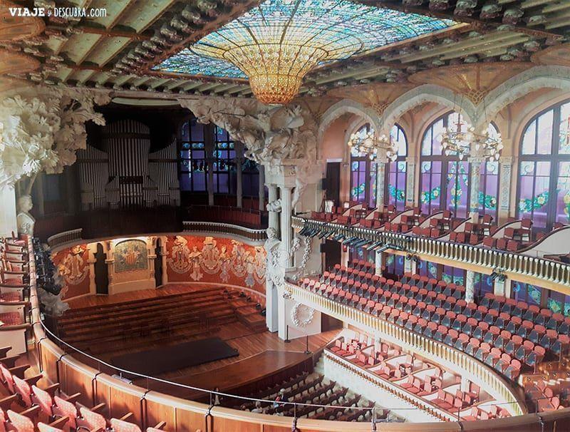 Barcelona,-lugares-desconocidos,-no-todos-conocen,-lado-b,-palau-de-la-musica-catalana,-teatro