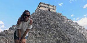 Chichen-Itza,-ruinas-mayas,-mexico,-viajeydescubra