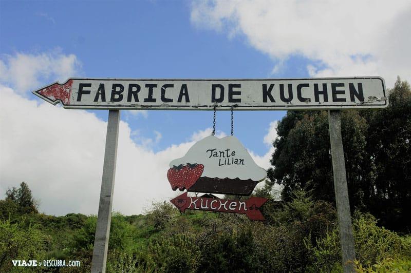 Chile en auto, Frutillar, kuchen, tradiciones alemanas