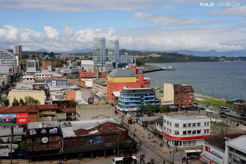 Chile en auto, puerto montt, costanera