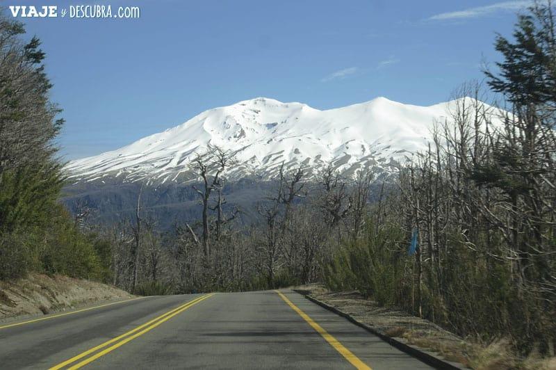 Chile, viajar en auto, Osorno, viajar en pareja, Cerro Tronador, Paso Internacional Cardenal Samore, ruta