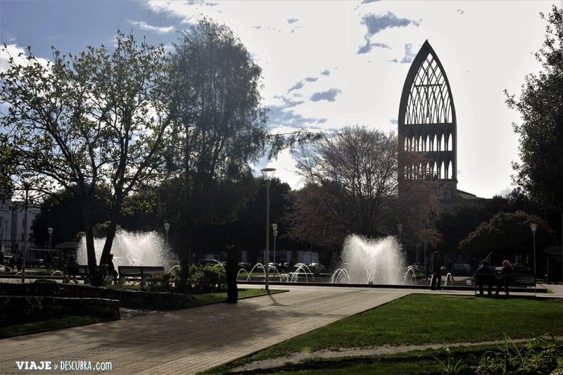 Chile, viajar en auto, Osorno, viajar en pareja, Cerro Tronador, Paso Internacional Cardenal Samore, plaza principal, Catedral