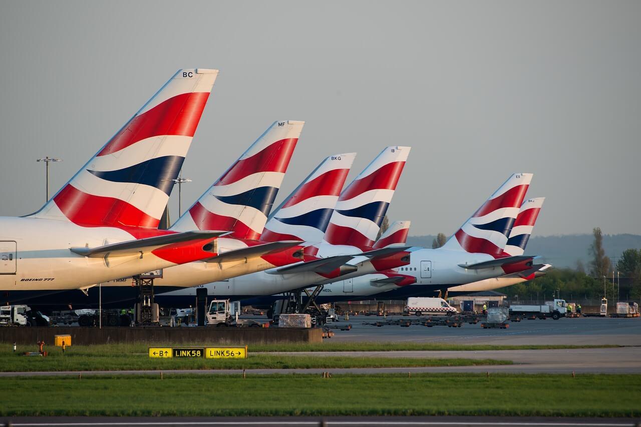 Entrar a Europa, aviones Reino Unido