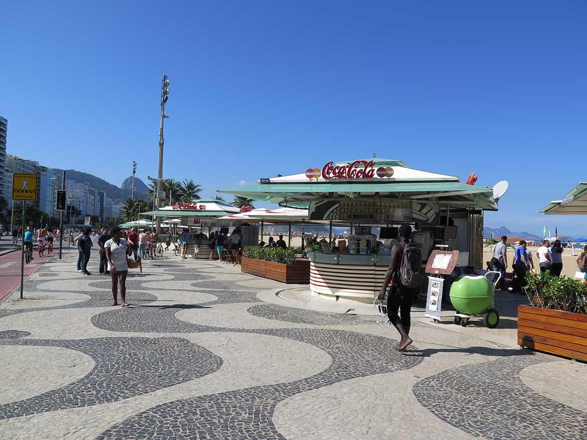 Copacabana, imperdible Río de Janeiro, playas