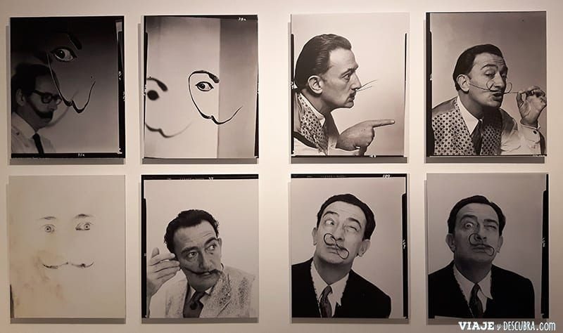Girona-y-Figueres-en-el-dia,-barcelona,-Figueres,-Teatro-Museo-Dali,-bigote-de-Dalí