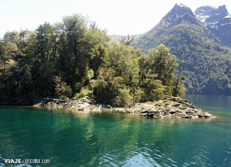 isla centinela, puerto blest, cascada los cantaros, neuquen, bariloche, argentina, patagonia