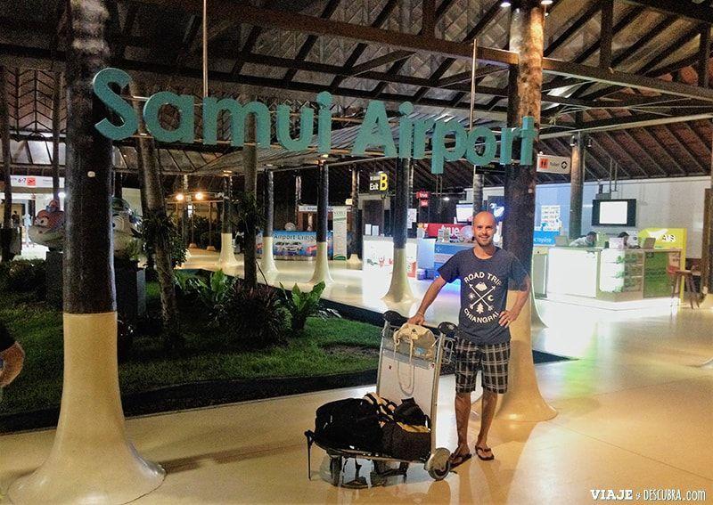 Koh-Samui,-Tailandia,-islas,-asia,-aeropuerto