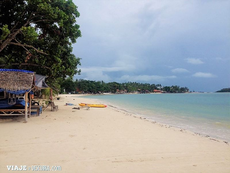 Koh-Samui,-Tailandia,-islas,-chaweng,-playa,-asia