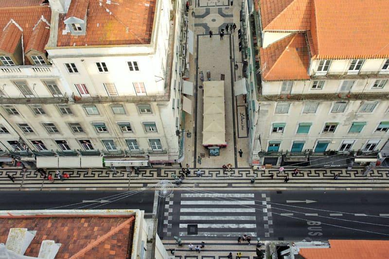 Lisboa, Portugal, imperdibles, La Baixa, Elevador de Santa Justa