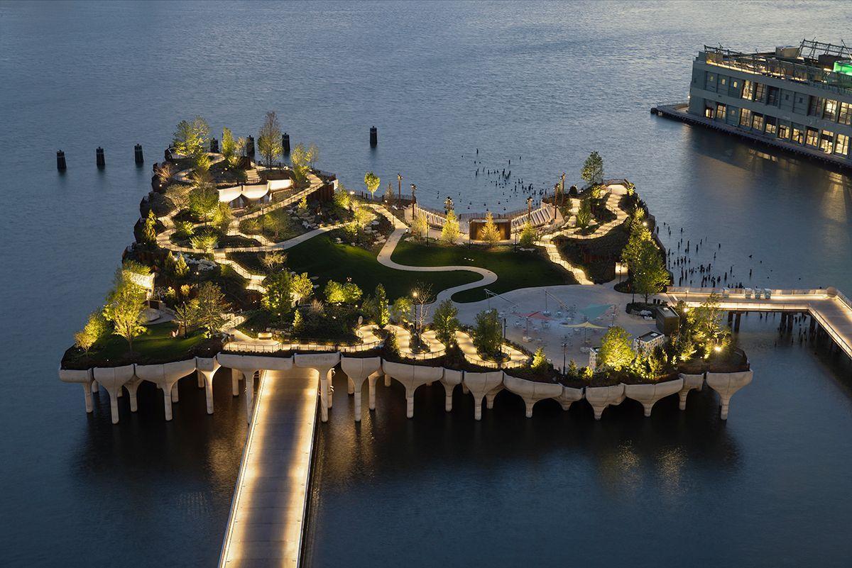 Little Island, nuevo parque en Nueva York