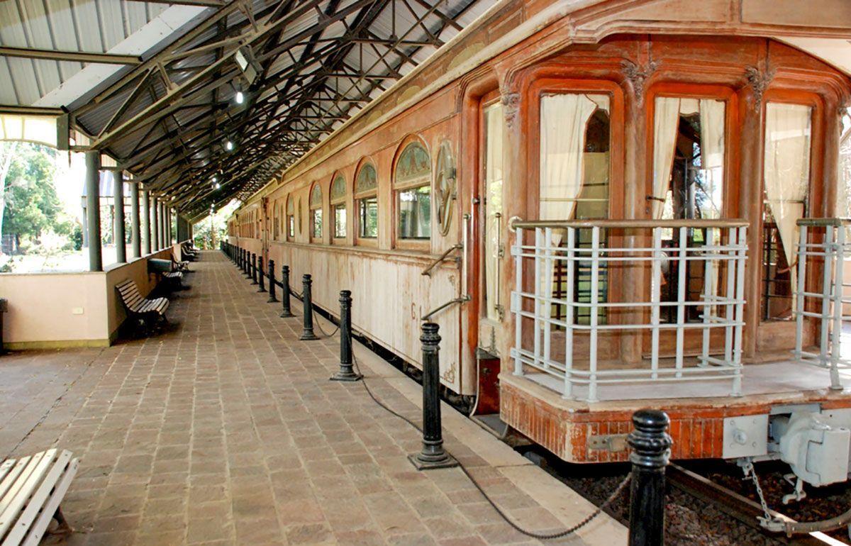 Tren presidencial, Quinta 17 de octubre, San Vicente, pueblos de Buenos Aires