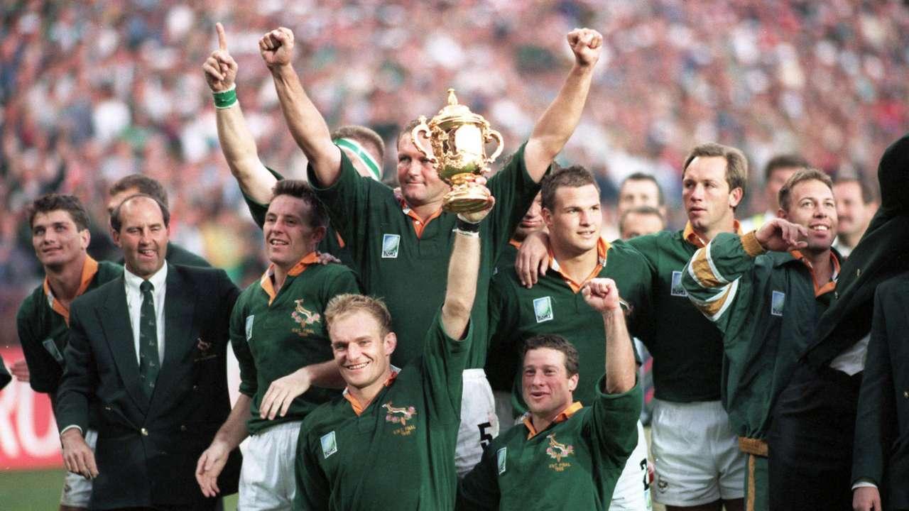 Springboks, selección de Sudáfrica campeona de la Copa Mundial de Rugby 1995