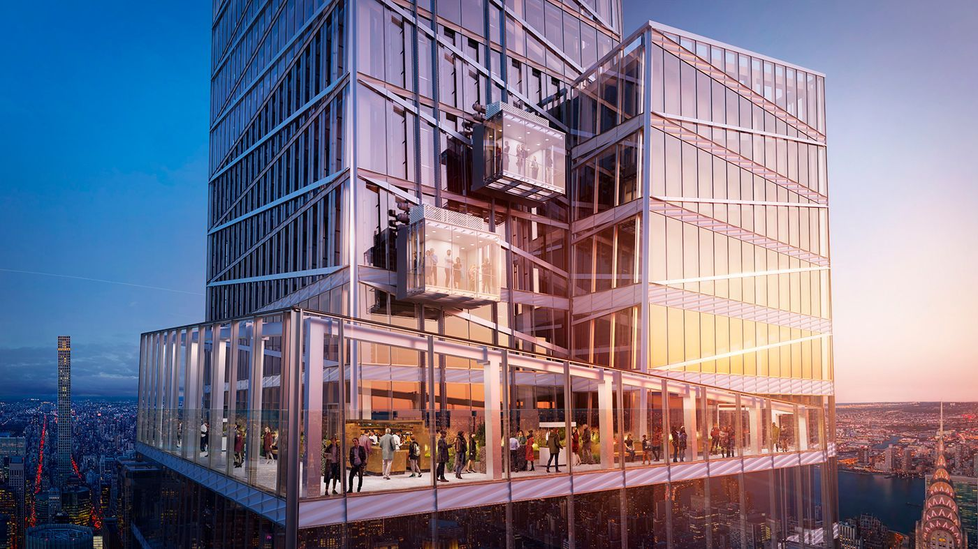 Summit, One Vanderbilt, exterior, nuevas atracciones nueva york