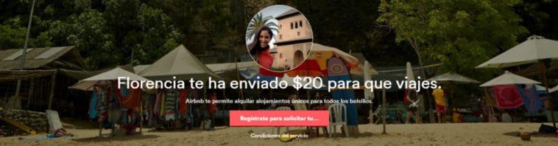 airbnb, credito, dinero de regalo, viajar, alojamiento, viajar barato