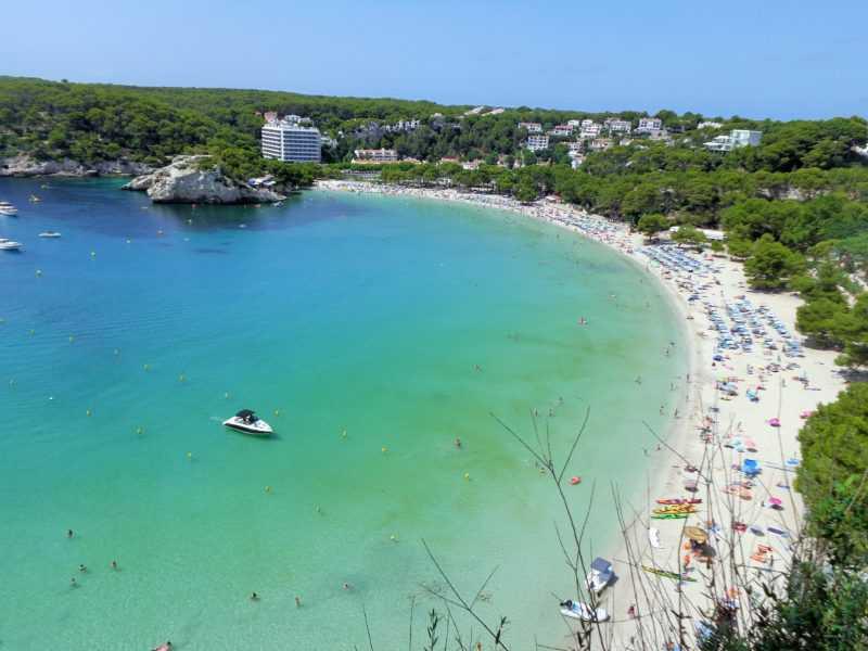 cala galdana, calas alucinantes, playas alucinantes, menorca, que ver en menorca, españa, islas baleares