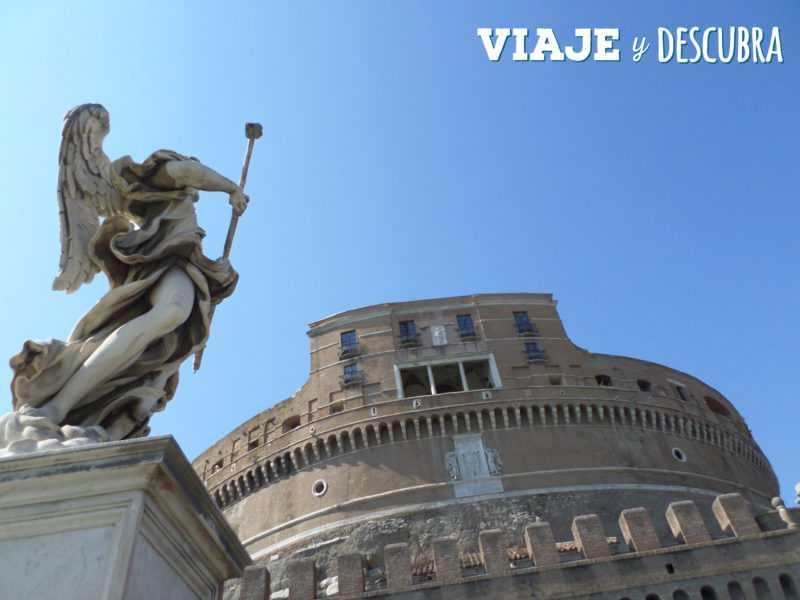 castel sant' angelo, vaticano, roma, italia, imperdibles, que hacer en roma
