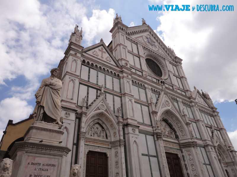 Iglesia de Santa Croce, Santa Croce, florencia, imperdibles, italia
