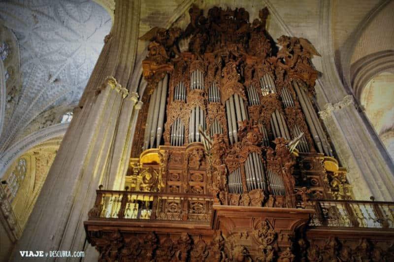 Catedral, órgano, sevilla, andalucía, españa, La Giralda, imperdibles Sevilla, Europa