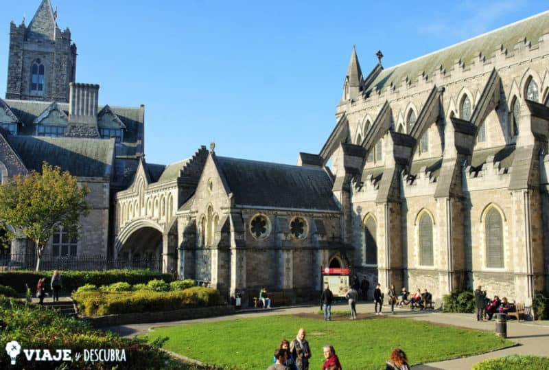 christ church cathedral, catedral, dublin, irlanda, dos días en Dublin, qué ver en Dublin, imperdibles Dublin, mapa Dublin