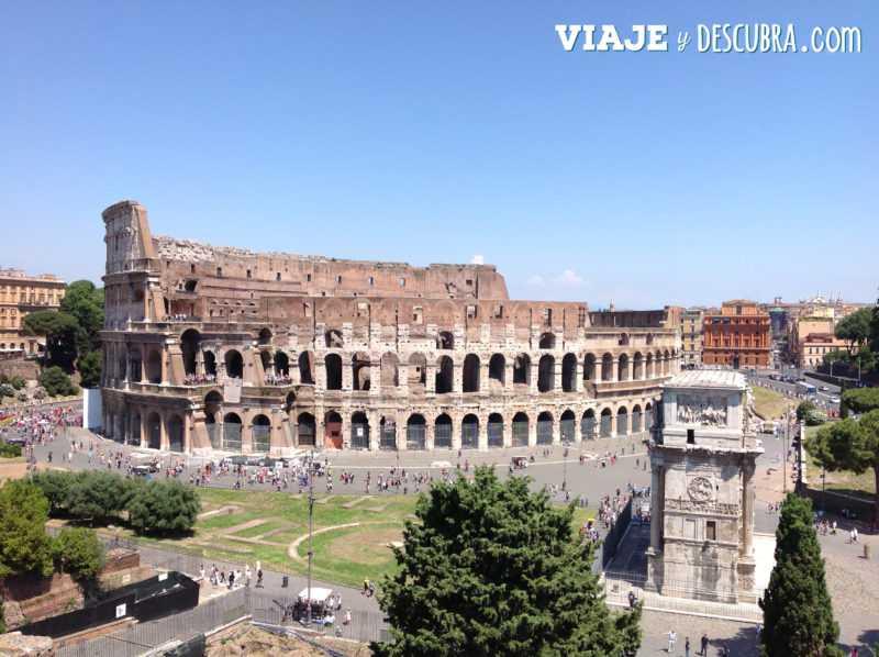 roma, coliseo romano, italia, imperdibles, que hacer en roma, arco de constastino