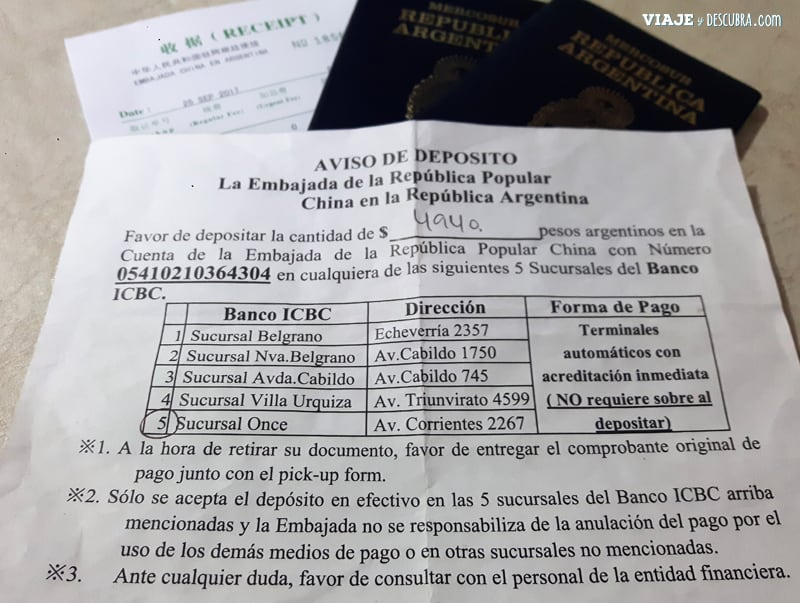 como-sacar-visa-china,-buenos-aires,-argentina,-turismo,-categoría-L-donde-pagar-icbc