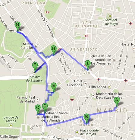 Itinerario Día 1