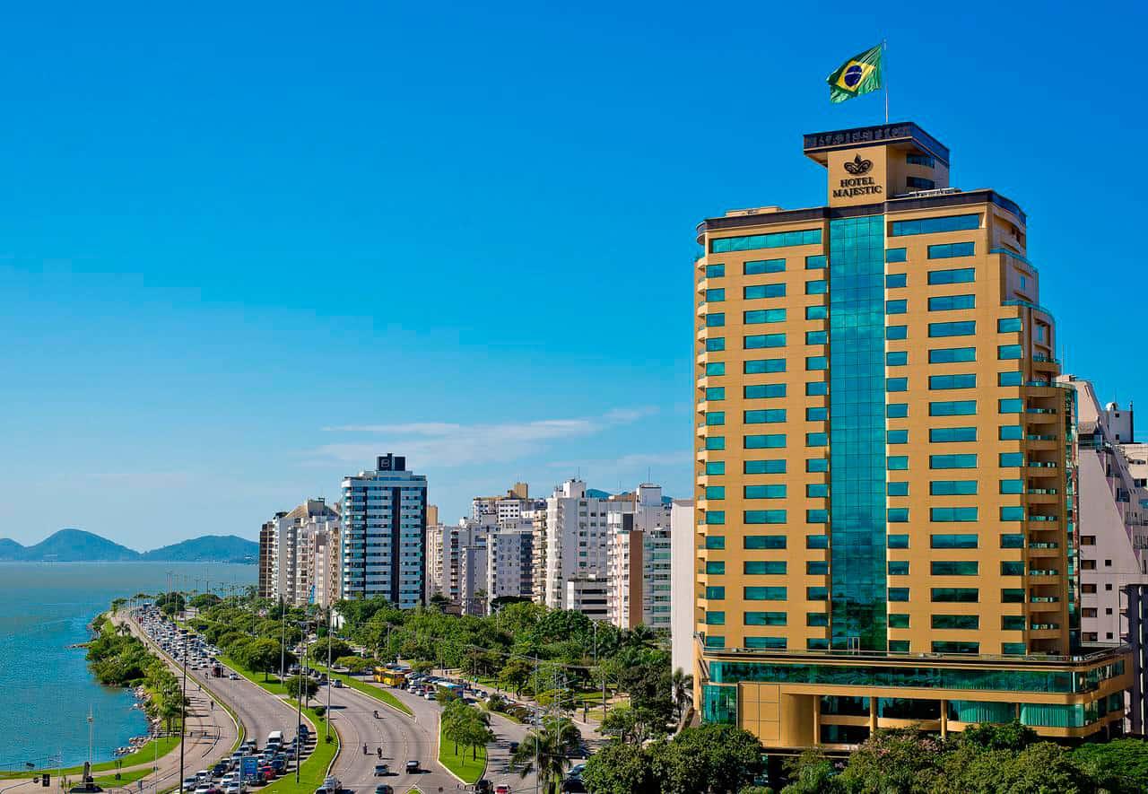 Hotel Majestic Florianópolis, Beira Mar