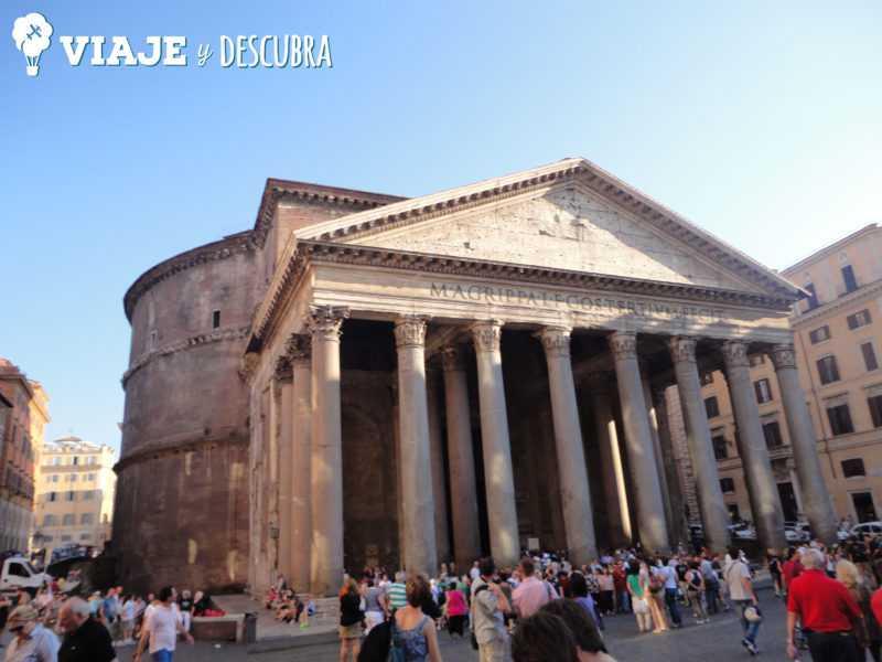 panteon, pantheon, piazza navona, piazza spagna, fontana di trevi, roma, italia, imperdibles, que hacer en roma