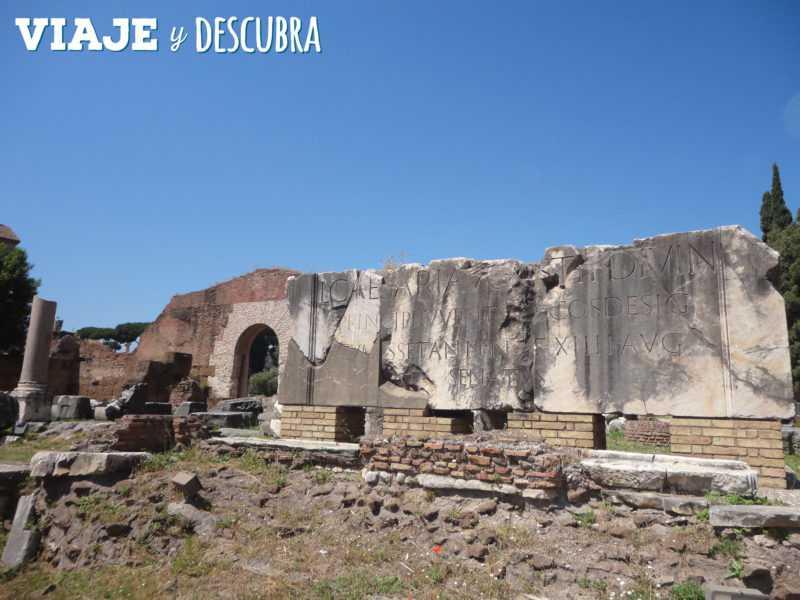 roma, foro romano, palatino, coliseo romano, italia, imperdibles, que hacer en roma, arco de constastino