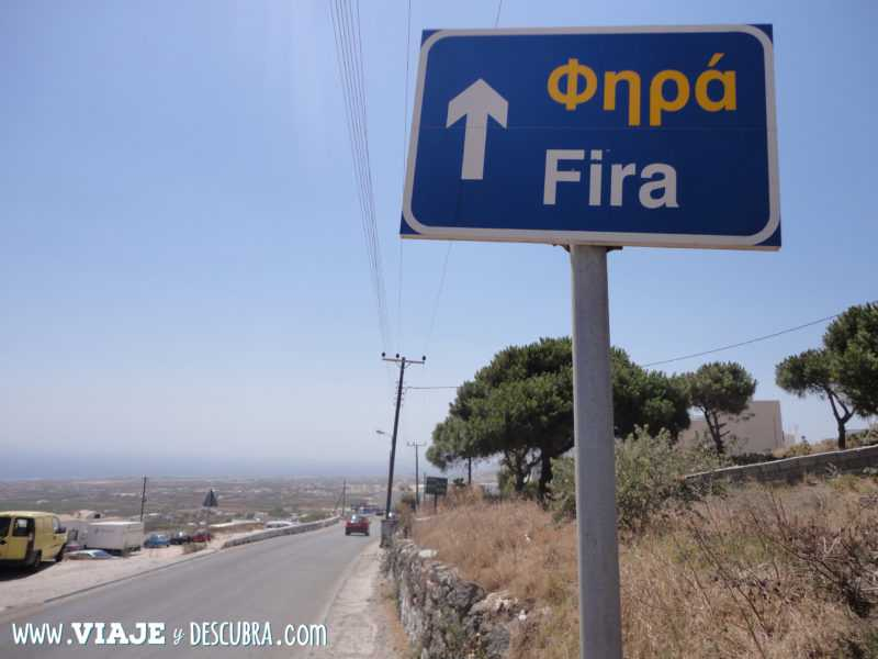 fira, santorini, oia, islas griegas, ferry, grecia