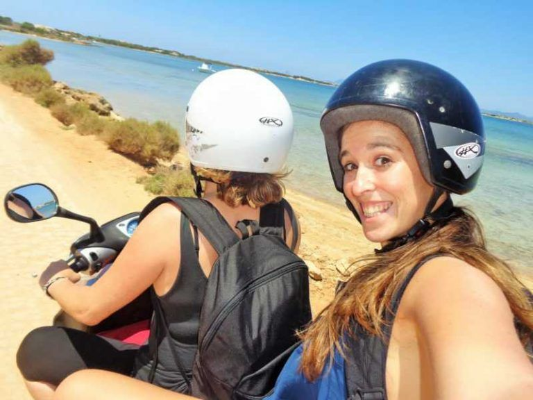 Seguro de viaje, viajar seguro, asistencia al viajero, Formentera, viajar en moto