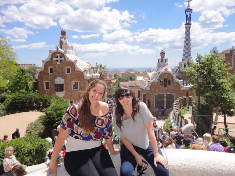 Barcelona. Park Guell. Gaudi. España. Mochileros por Europa. Europa. Viajar. Travel Blogger. Blog de Viajes