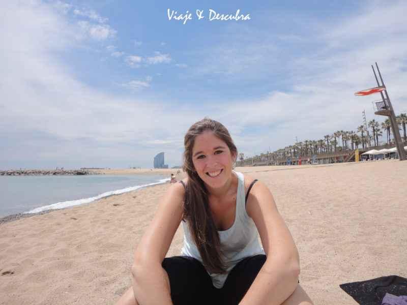 Playa - La Barceloneta - barcelona - españa - imperdibles