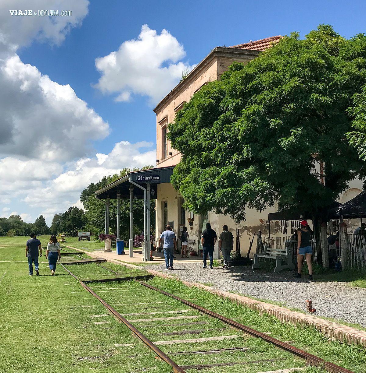 Estación de tren de Carlos Keen