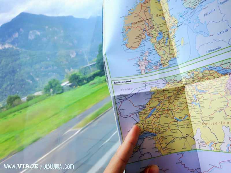 transporte, buscador, Europa, como moverse en Europa, viajeydescubra