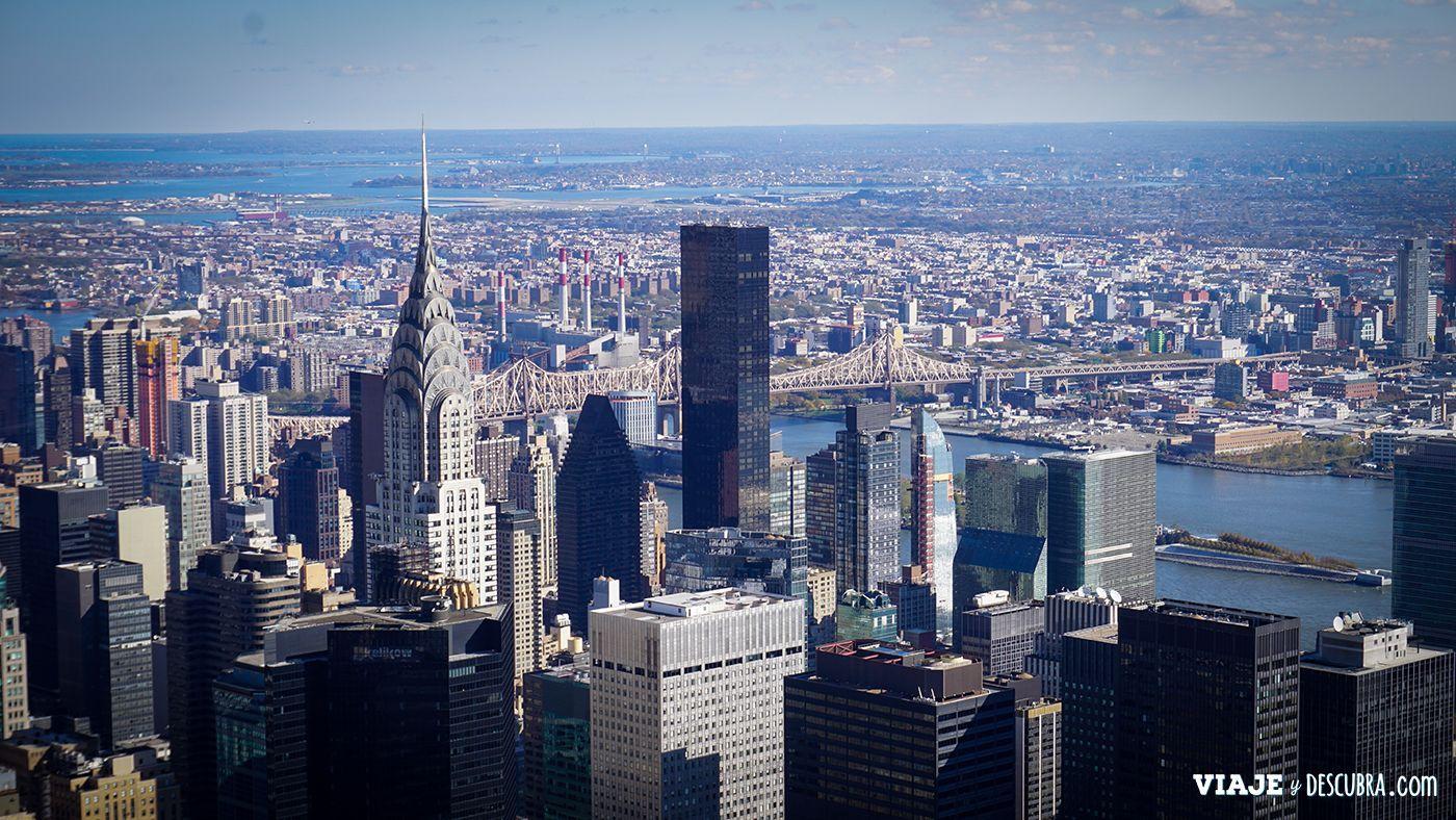 vista del skyline de Nueva York