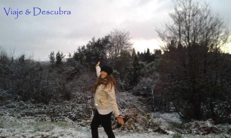 Flor in the Snow a las 8 AM (!!!) - Foto Jenni