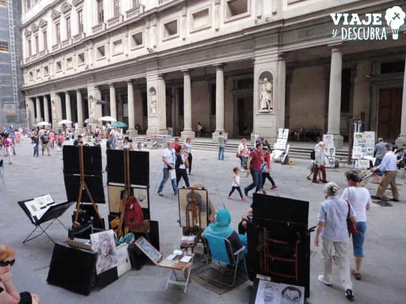 Galeria Uffizi, florencia, imperdibles, italia