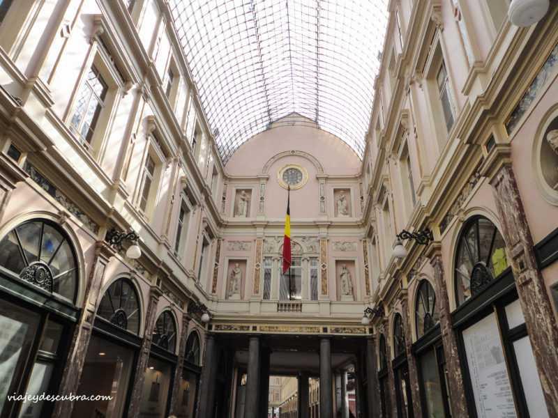 Galeries Royales St. Hubert- Bruxelles - bruselas - belgica - europa - eurotrip - mochilero a europa