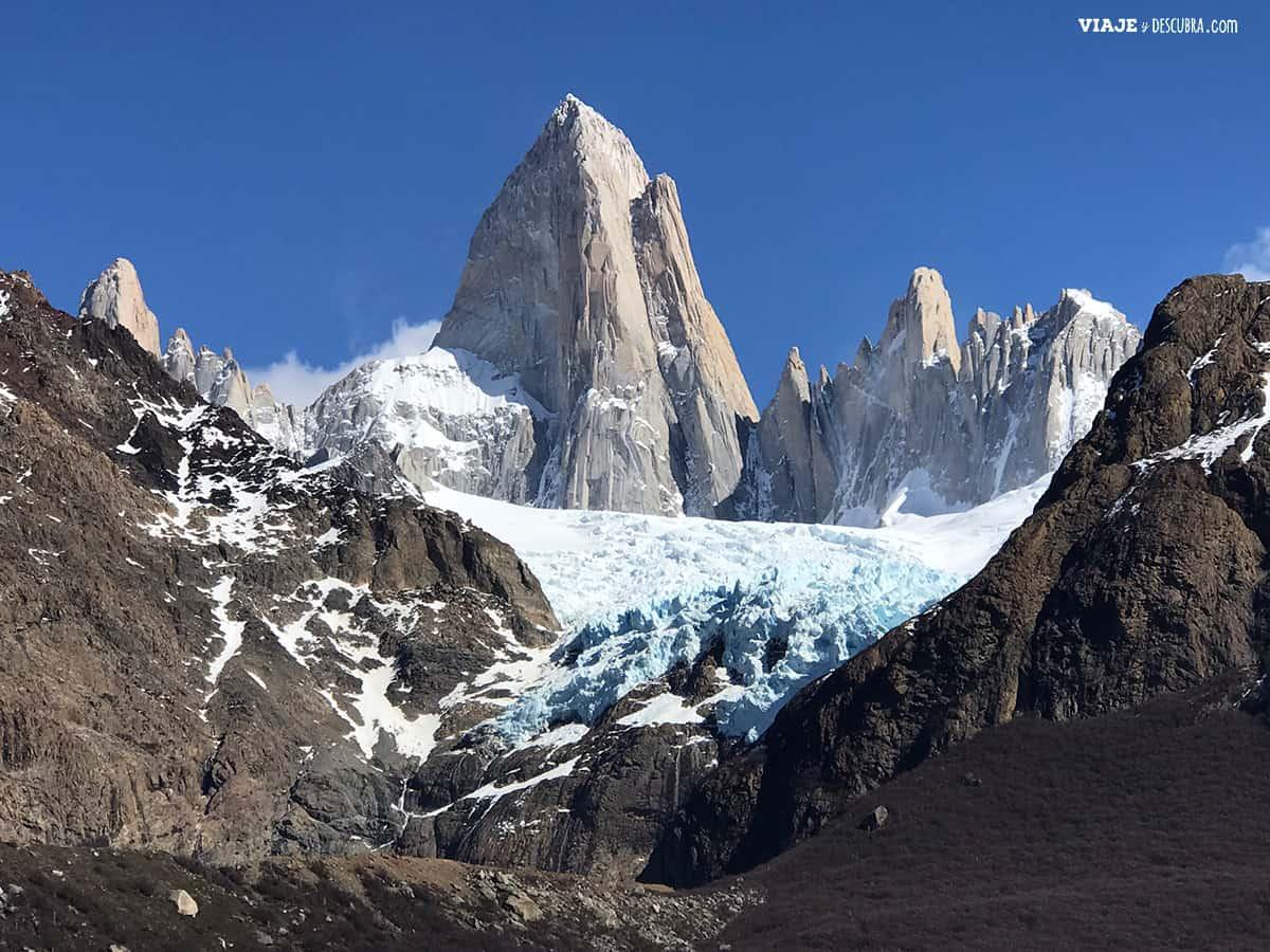 Glaciar Piedras Blancas, El Chaltén, Santa Cruz, viajeydescubra