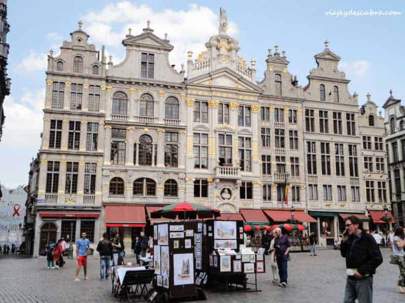 grand place - bruselas - belgica - europa - eurotrip - mochilero a europa