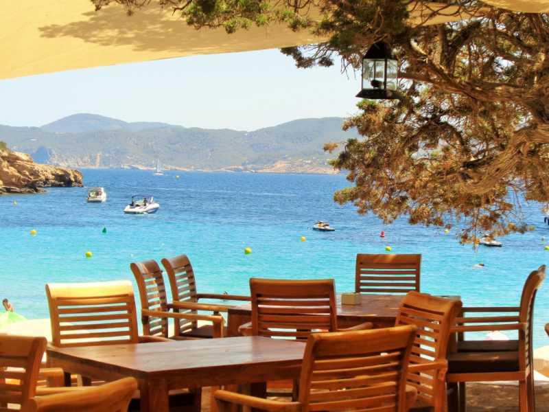 ibiza, cala bassa, islas baleares, playa, mar, mediterraneo