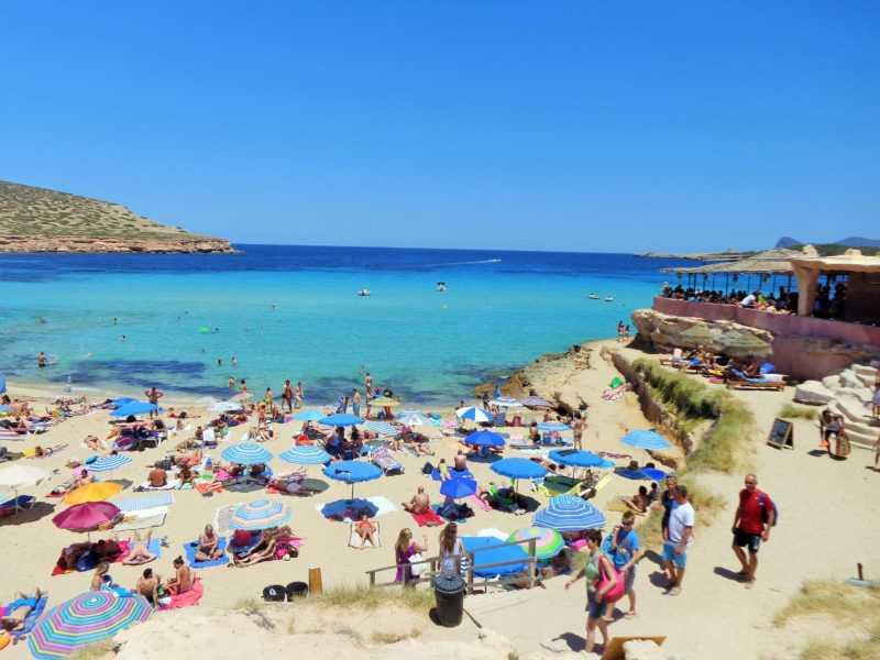 ibiza, cala comte, islas baleares, playa, mar, mediterraneo