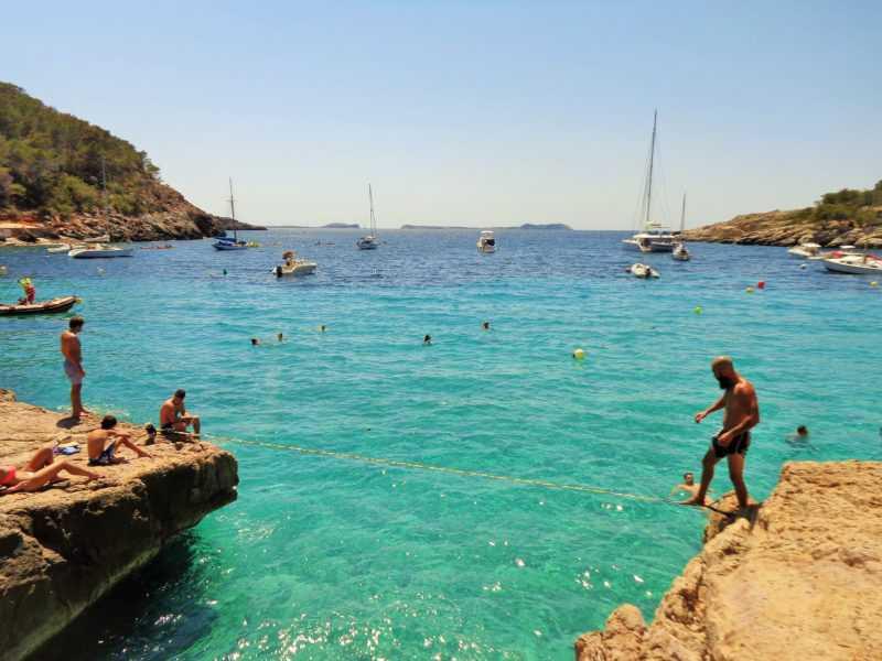 ibiza, cala salada, islas baleares, playa, mar, mediterraneo