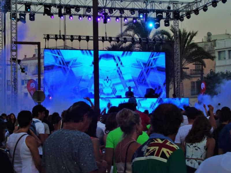 ibiza,islas baleares, noche, música electrónica, playa